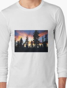 """Because He Called, """"Forest Brother..."""" Long Sleeve T-Shirt"""