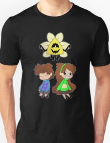 Gravity Falls Crossover (colour ver) T-Shirt