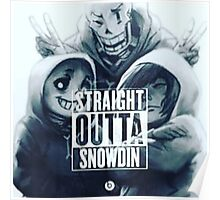 Straight out of Snowden  Poster