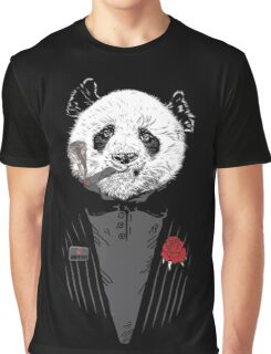 D panda godfather Graphic T-Shirt