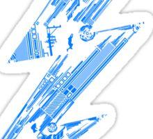 THUNDER FLASH Sticker