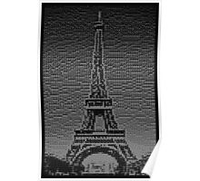 Domino Eiffel Tower - 72 sets Poster