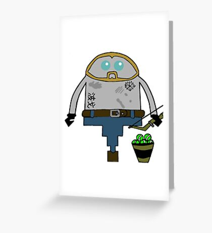 Season 1 Arrow Greeting Card