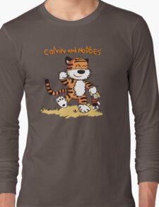 Calvin An Hobbes Long Sleeve T-Shirt