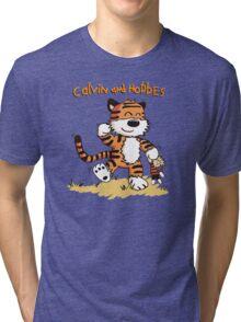 Calvin An Hobbes Tri-blend T-Shirt