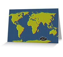 I am the world I Greeting Card