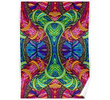Psychedelic Abstract colourful work 123 Poster