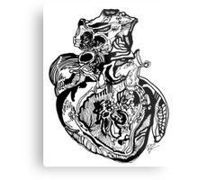 Car·di·o·vas·cu·lar Metal Print