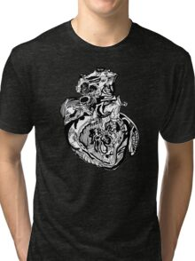 Car·di·o·vas·cu·lar Tri-blend T-Shirt