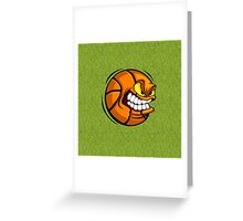 Ball Grumpy Greeting Card