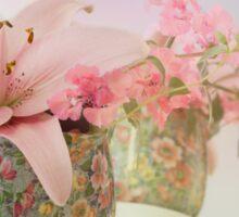 Pink Lily Rainbow Sticker