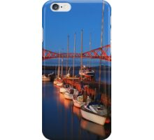 South Queensferry Harbour iPhone Case/Skin