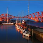 South Queensferry Harbour by MY Scotland
