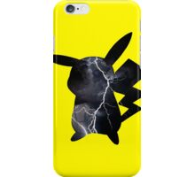 Pikachu lightning iPhone Case/Skin
