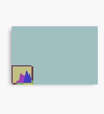 chart hills Canvas Print