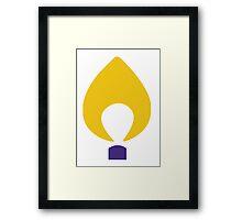 CMNH Flame Framed Print