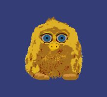 Cute Yellow Yeti Bigfoot With Big Blue Eyes Unisex T-Shirt