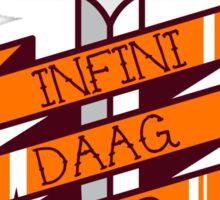 Infinidagger! Sticker