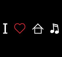 I LOVE HOUSE MUSIC by 10Drops