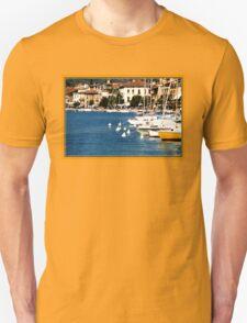Salò Lake Garda Port and Bay Lake Garda photo T-Shirt