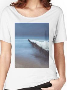 Evening by the sea Women's Relaxed Fit T-Shirt