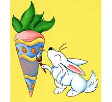 Easter Carrot Photographic Print