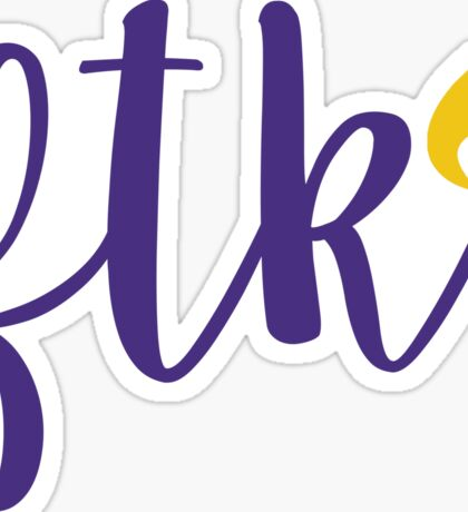 FTK - JMU Sticker