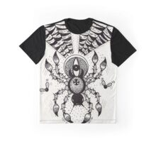 Black Spider Graphic T-Shirt