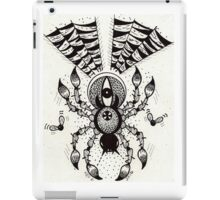 Black Spider iPad Case/Skin