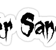 Enter Sandman Sticker