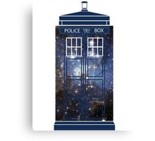 Doctor Who - Galaxy Canvas Print