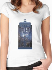 Doctor Who - Galaxy Women's Fitted Scoop T-Shirt