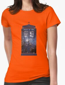 Doctor Who - Galaxy Womens Fitted T-Shirt