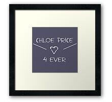 Chloe Price Forever Framed Print