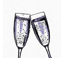 Champagne wishes and caviar dreams Photographic Print