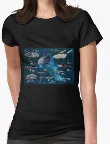 Star Trek Enterpries (All) Womens Fitted T-Shirt