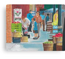 Jame St Fish Market Canvas Print