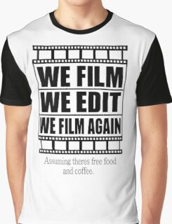 Filmmaker Graphic T-Shirt