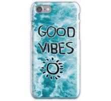 Random, Good Vibes iPhone Case/Skin