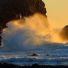 Jeremiah 31:5  Who stirs up the sea so that its waves roar.... by Laurie Puglia