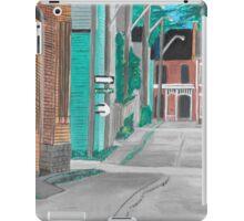 Little Side Street  iPad Case/Skin