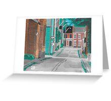 Little Side Street  Greeting Card