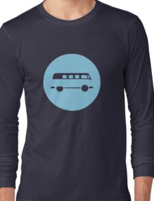 Minimal VW Van Long Sleeve T-Shirt