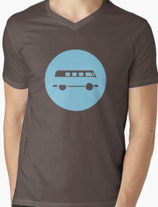 Minimal VW Van Mens V-Neck T-Shirt
