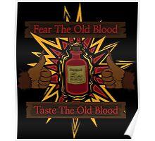 Taste The Old Blood Poster