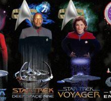 Star Trek - All The Captains Sticker