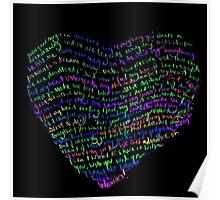 Adventure Of A Lifetime Coldplay lyrics Poster