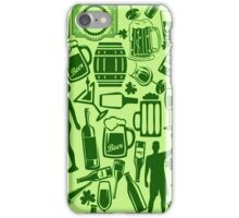 Drunken Shamrock St Patricks Day iPhone Case/Skin
