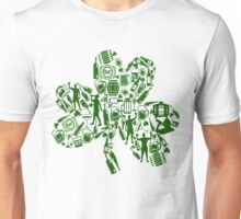 Drunken Shamrock St Patricks Day Unisex T-Shirt