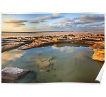 Cable Beach rock pool Poster